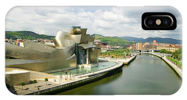 Gehry iPhone Case - The Guggenheim Museum Of Contemporary by Panoramic Images