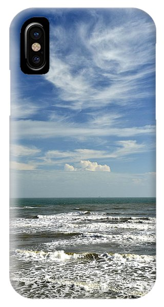 The Gulf Of Mexico From Galveston IPhone Case