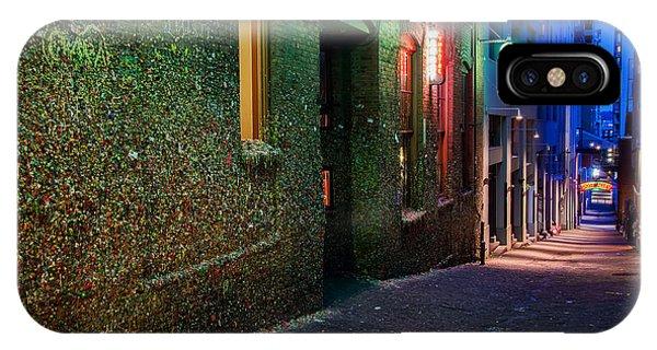 The Gum Wall Phone Case by Eddie Yerkish