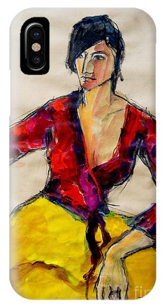 The Gypsy - Pia #2 - Figure Series IPhone Case