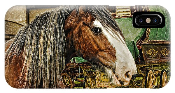 The Gypsy Vanner IPhone Case