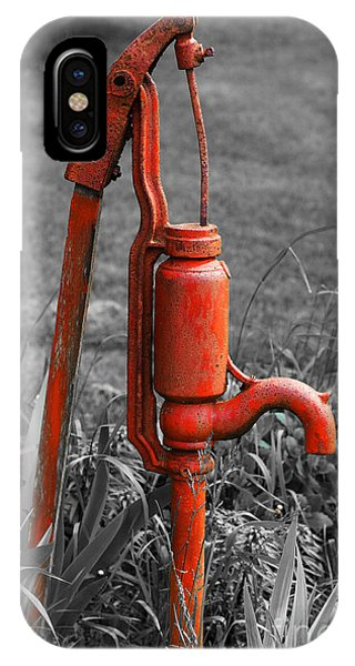 The Hand Pump IPhone Case