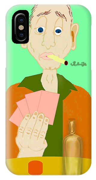 iPhone Case - The Hand That Was Dealt by Pharris Art