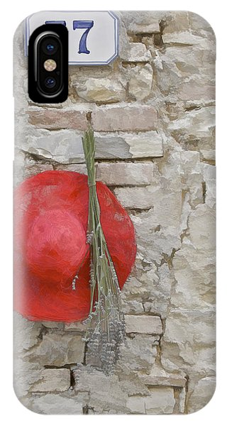 The Hanging Red Hat IPhone Case