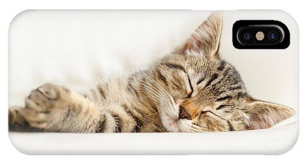 The Happy Kitten IPhone Case