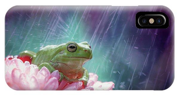 Pink Flower iPhone Case - The Happy Rain by Ahmad Baihaki