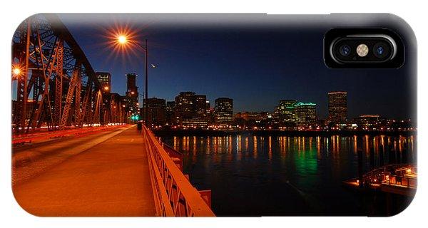 The Hawthorne Bridge  IPhone Case