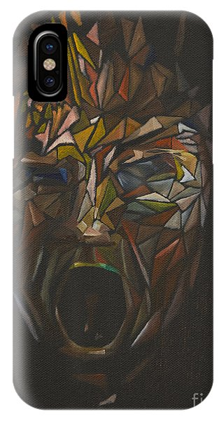 The Head Of Goliath - After Caravaggio IPhone Case