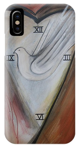 The Heart Of Time IPhone Case