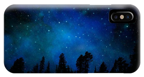 The Heavens Are Declaring Gods Glory Mural IPhone Case