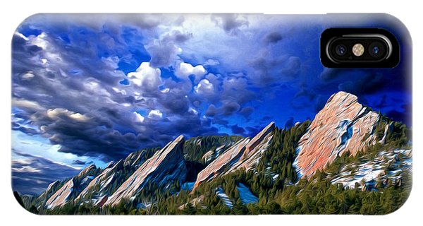 The Heavens Declare His Glory IPhone Case