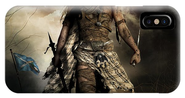Andrew iPhone Case - The Highlander by Shanina Conway