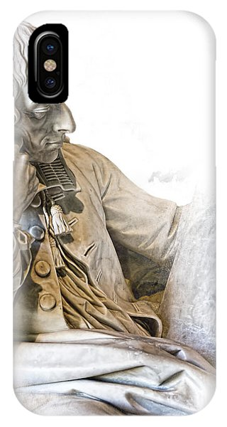 Old Rugged Cross iPhone Case - The Historian by Evie Carrier
