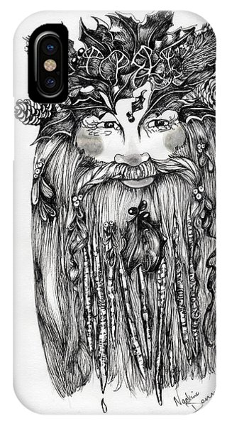 The Holly King IPhone Case