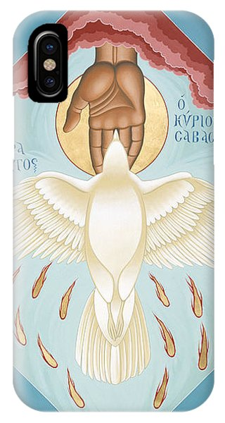 The Holy Spirit The Lord The Giver Of Life The Paraclete Sender Of Peace 093 IPhone Case