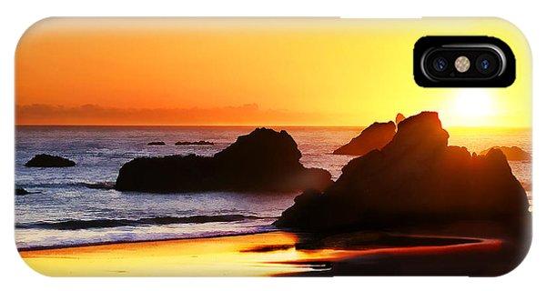 The Honeymoon Sunset  IPhone Case