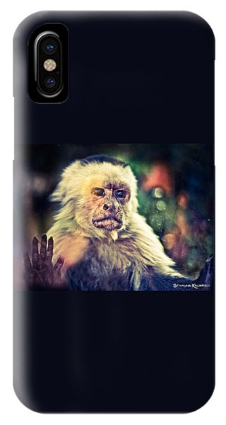 IPhone Case featuring the photograph The Hopeless Ape by Stwayne Keubrick