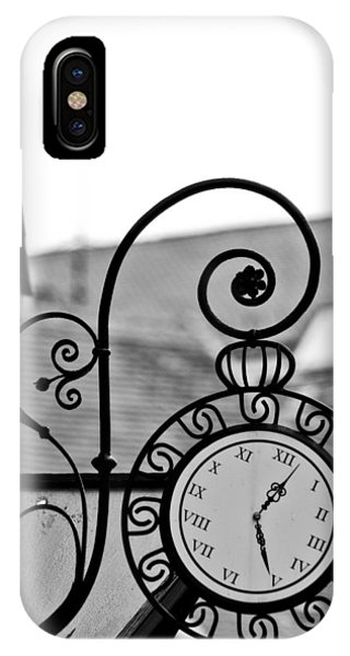 The Horologists Sign Phone Case by Gabor Fichtacher