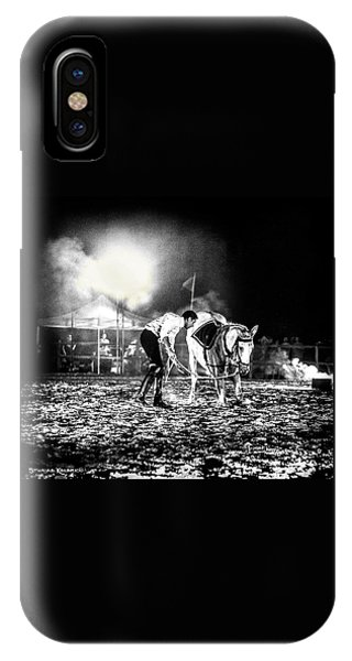 IPhone Case featuring the photograph The Horse That Suffered  by Stwayne Keubrick