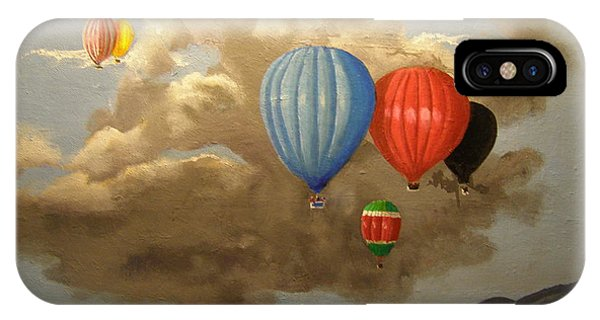 The Hot Air Balloon IPhone Case