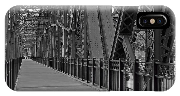 The Hot Metal Bridge In Pittsburgh IPhone Case