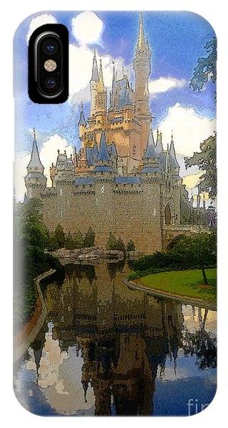 The House Of Cinderella IPhone Case