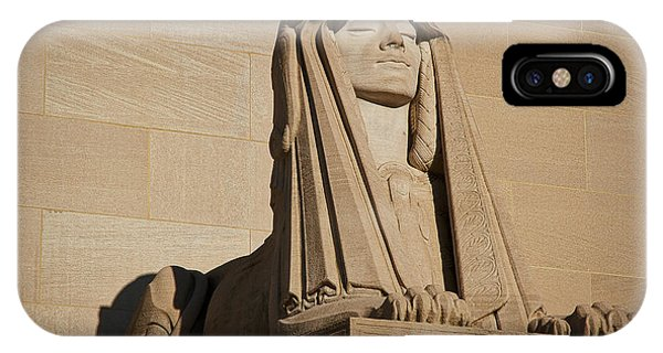 The House Of The Temple Sphinx #2 IPhone Case