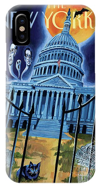 The House Republicans Haunt The Captiol Building IPhone Case