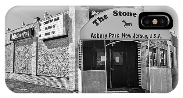 The House That Bruce Built - The Stone Pony Phone Case by Lee Dos Santos