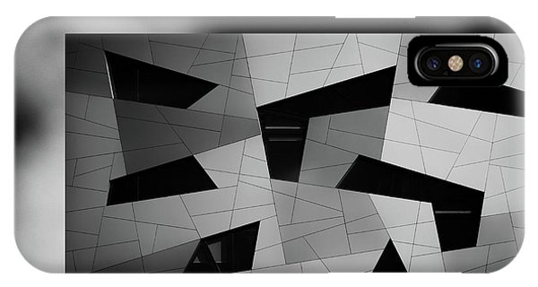 Facade iPhone Case - The House With The Shapes by Jeroen Van De