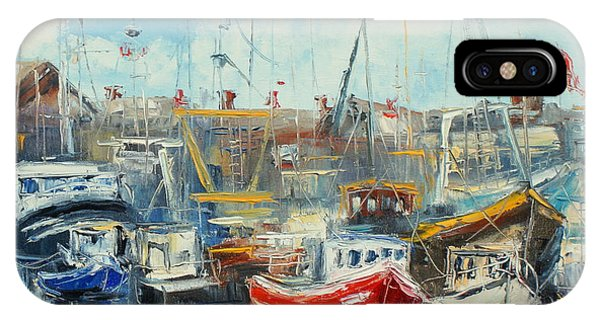 The Howth Harbour IPhone Case