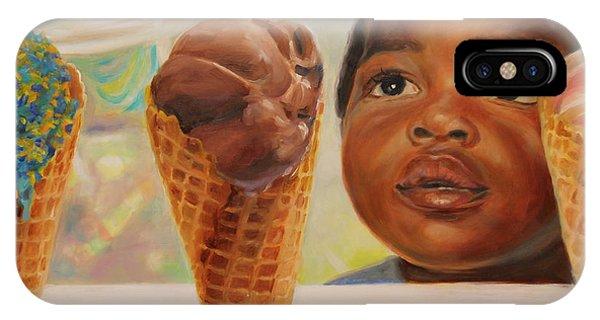 The Ice Cream Shop IPhone Case