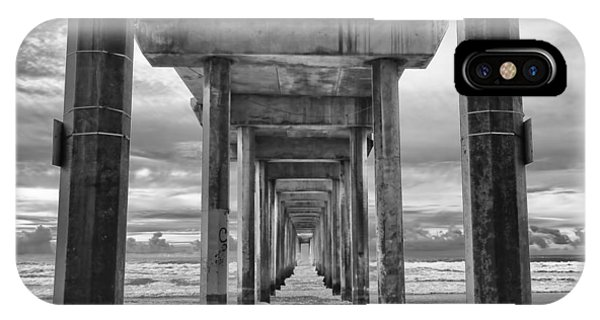 California iPhone Case - The Iconic Scripps Pier by Larry Marshall