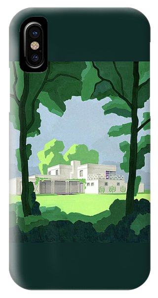 The Ideal House In House And Gardens IPhone Case