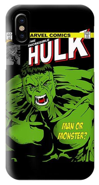 The Incredible Hulk IPhone Case
