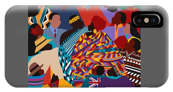 iPhone X Case - The International Decade by Synthia SAINT JAMES