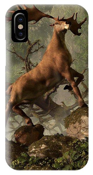 The Irish Elk IPhone Case