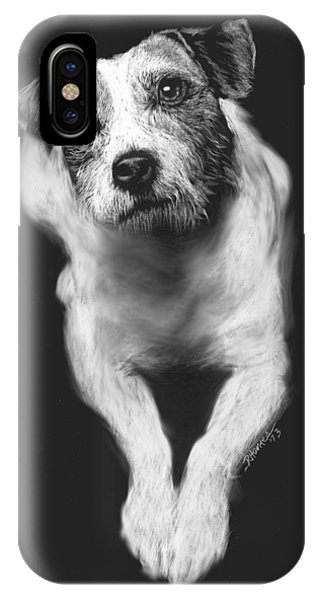The Jack Russell Stare- Got Ball? IPhone Case