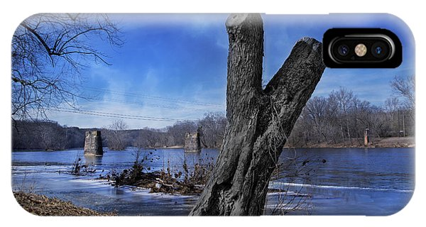 Trestle iPhone Case - The James River One by Betsy Knapp