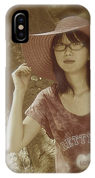 The Japanese Girl IPhone Case