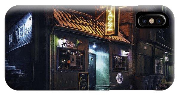 Business iPhone Case - The Jazz Estate Nightclub by Scott Norris