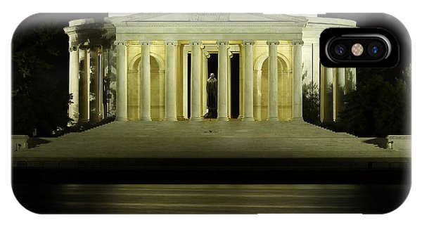 Jefferson Memorial iPhone Case - The Jefferson Memorial by Kim Hojnacki