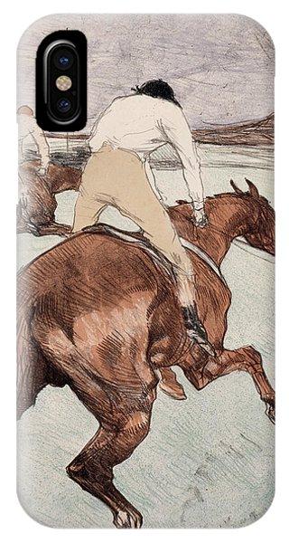 Impressionistic iPhone Case - The Jockey by Henri de Toulouse-Lautrec