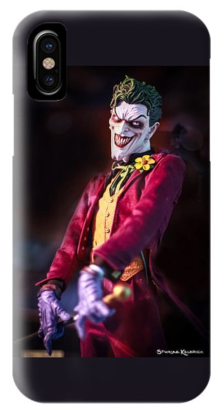 IPhone Case featuring the photograph The Joker Dummy by Stwayne Keubrick
