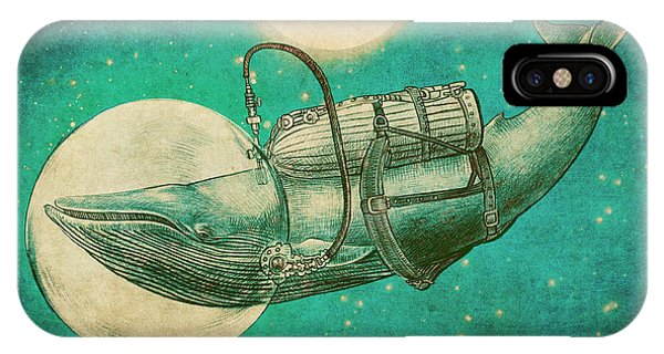Whales iPhone Case - The Journey by Eric Fan