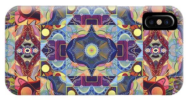 The Joy Of Design Mandala Series Puzzle 1 Arrangement 1 IPhone Case