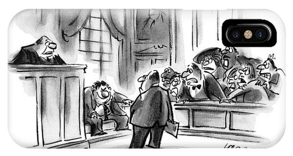 The Jury Will Disregard The Witness's Last IPhone Case