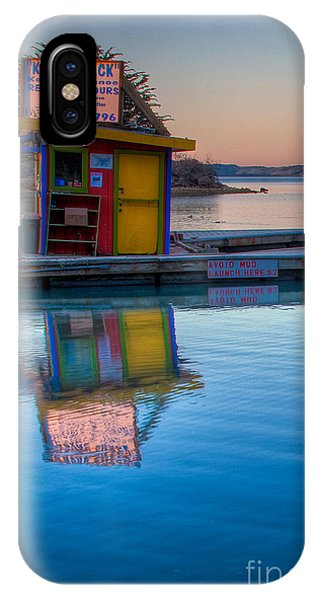 The Kayak Shack Morro Bay IPhone Case