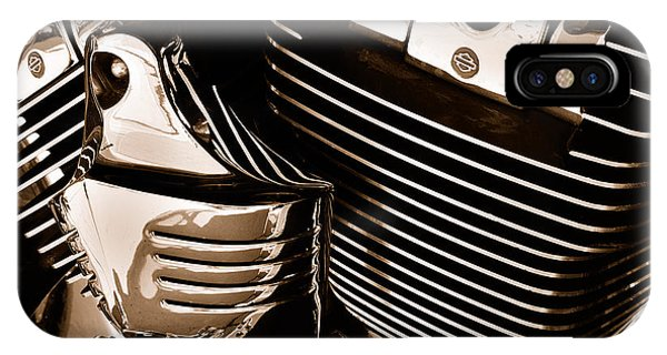 The King - Harley Davidson Road King Engine IPhone Case