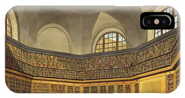 Fireplace iPhone Case - The Kings Library by James Stephanoff